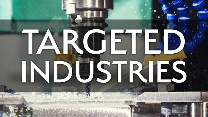 Targeted Industries